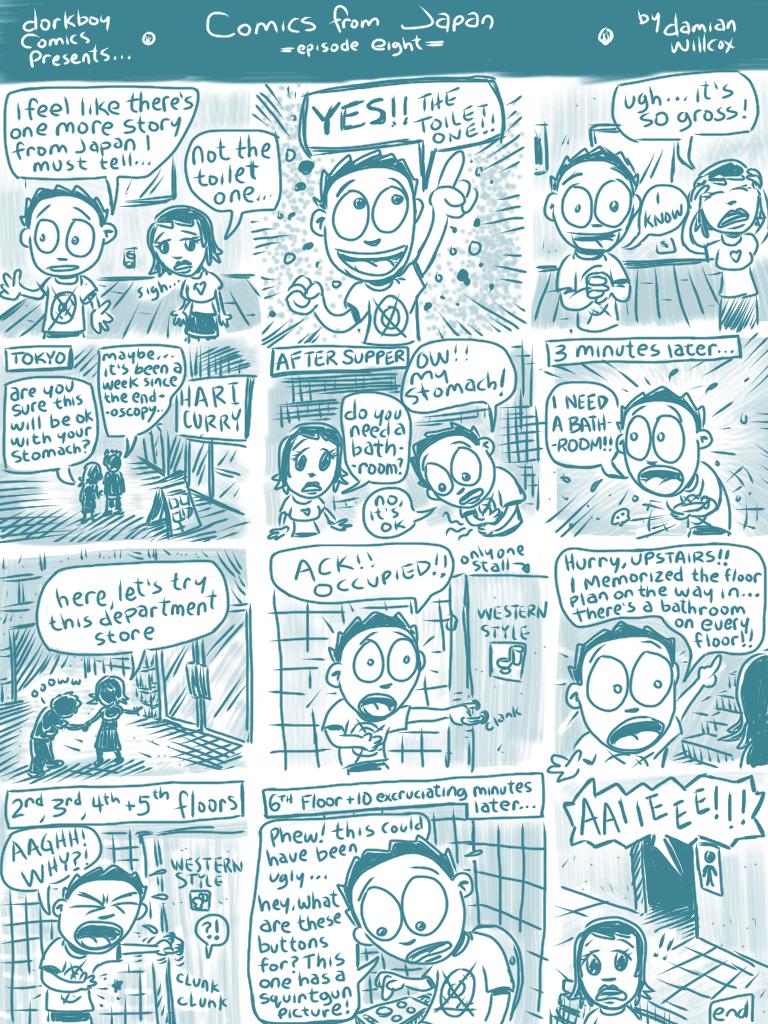 Comics from Japan #8