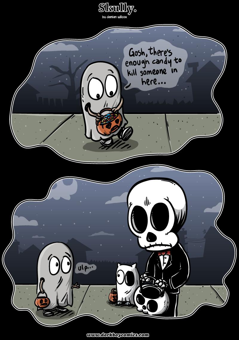 Skully – Happy Holloween