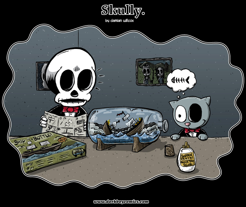 Skully – seasick