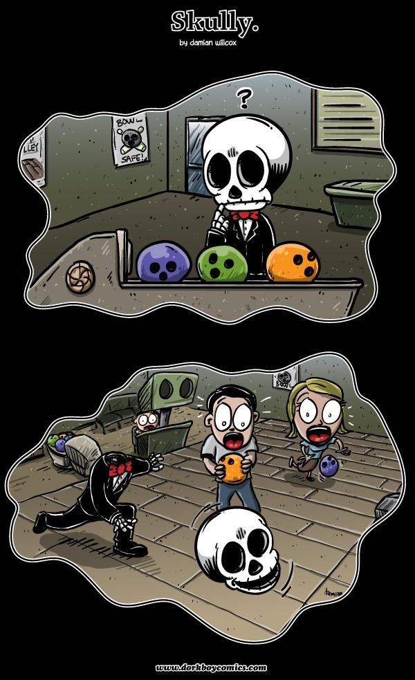 Skully – Dark Alley