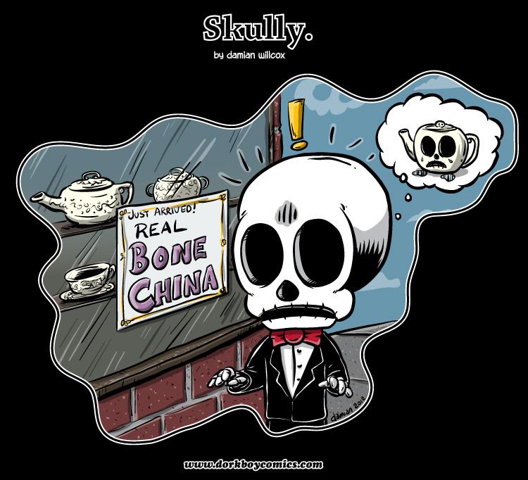 Skully – killer dinnerware