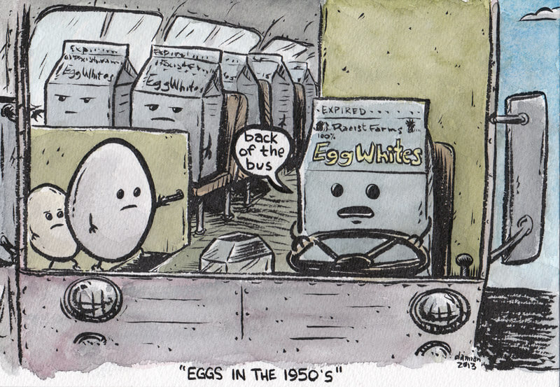 Historical all(egg)ory