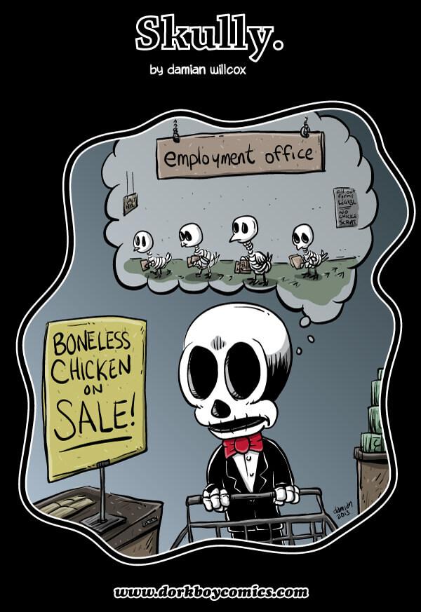 Skully – a Poultry Matter