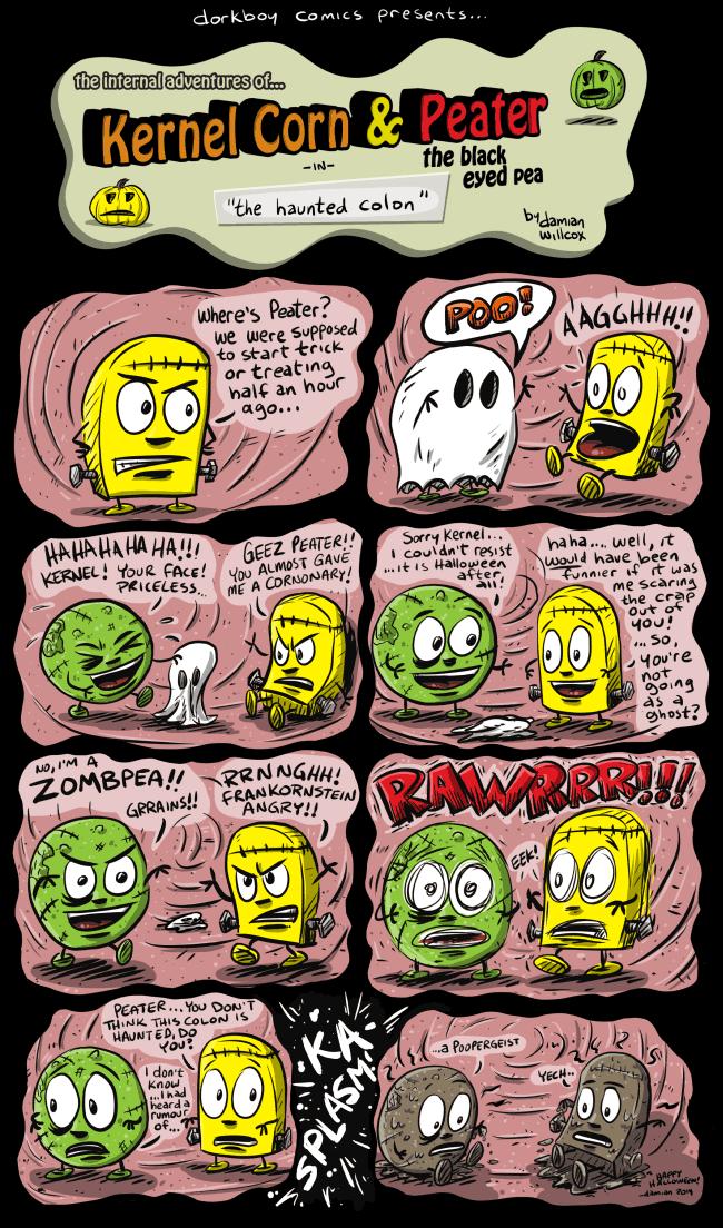 Kernel Corn – The Haunted Colon