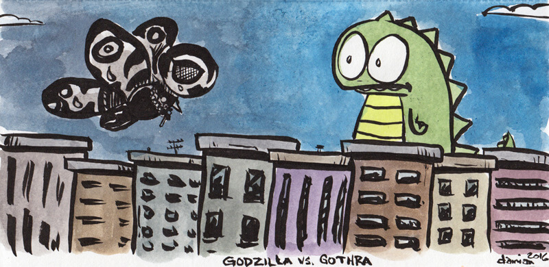 Godzilla's darkest battle yet