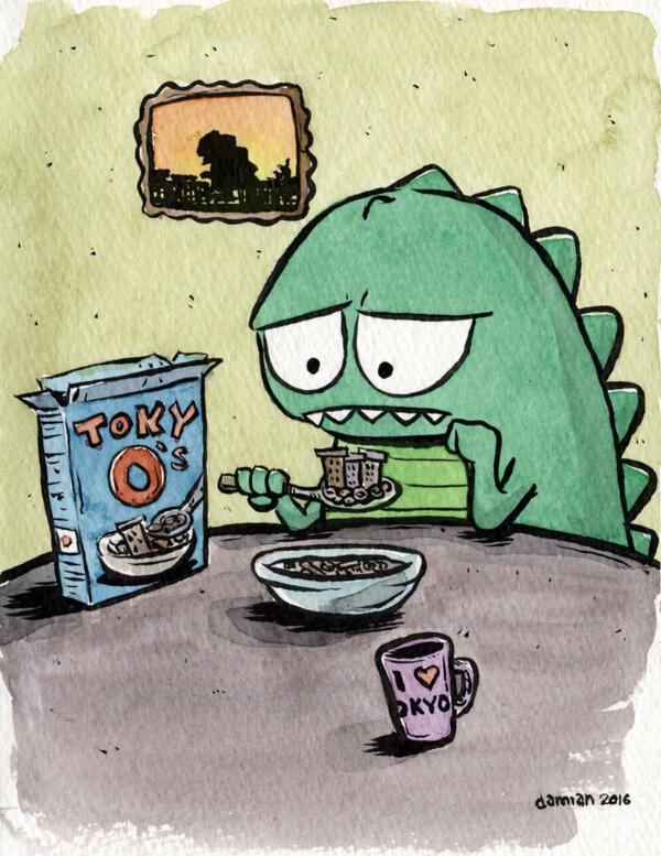 Godzilla vs Homesickness