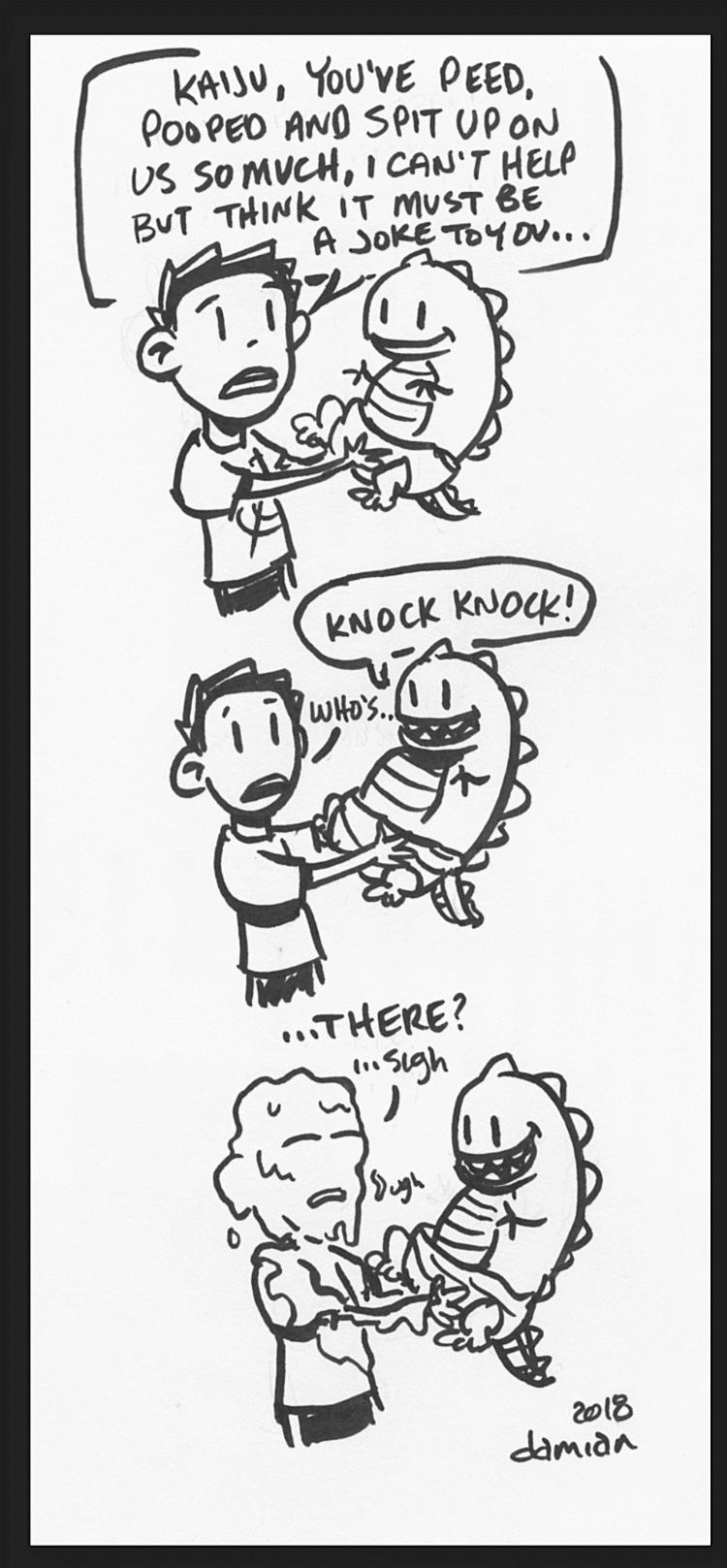 """Bad Parent – knock knock joke"""
