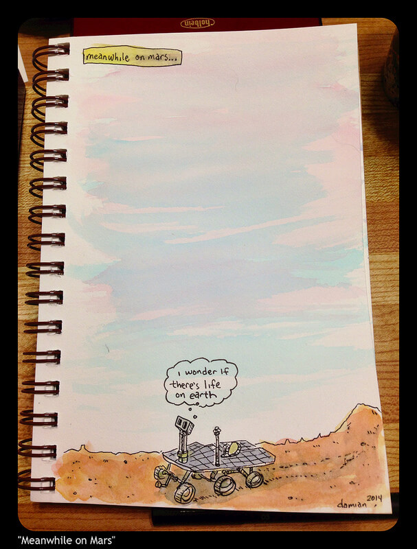 Meanwhile on Mars…