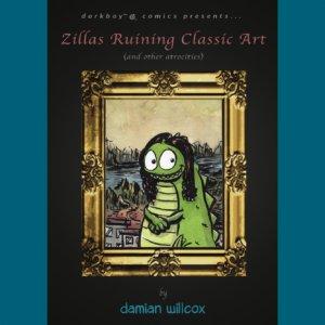 zillas ruining classic art